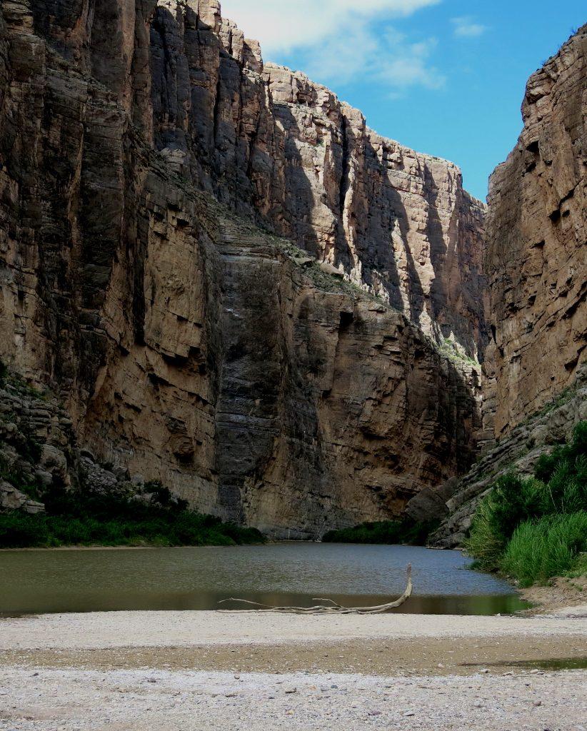 Santa Elena Canyon / Rio Grande