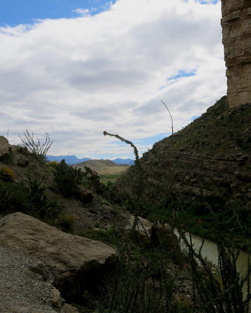 Wanderweg im Santa Elena Canyon